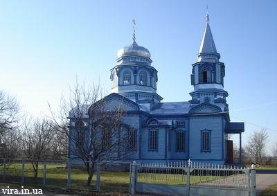 Свято-Стрітенський храм села Сулимівка