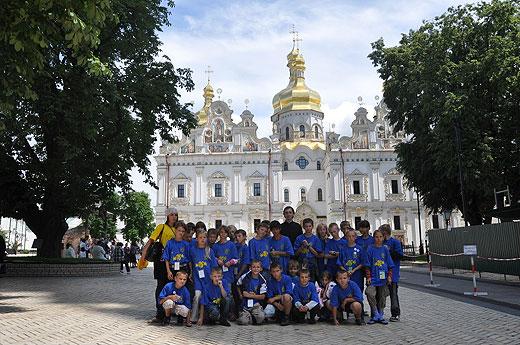 Вихованці дитбудинків Київської області відвідали Києво-Печерську Лавру