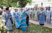 Українська Православна Церква молитовно відзначила 45-ту річницю архієрейської хіротонії Блаженнішого митрополита Володимира